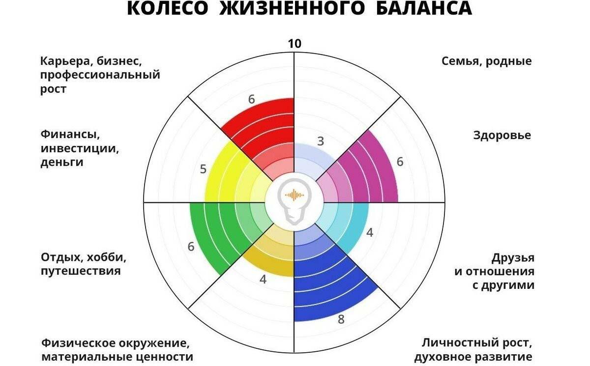 колесо баланса пример