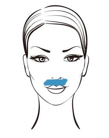 тейпирование круговой мышцы рта