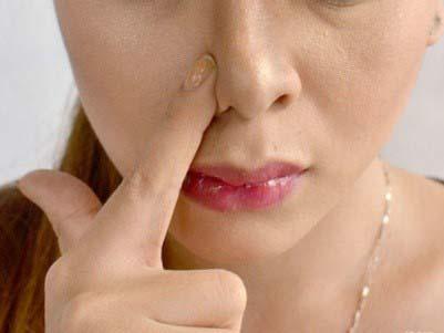 выравниваем кончик носа